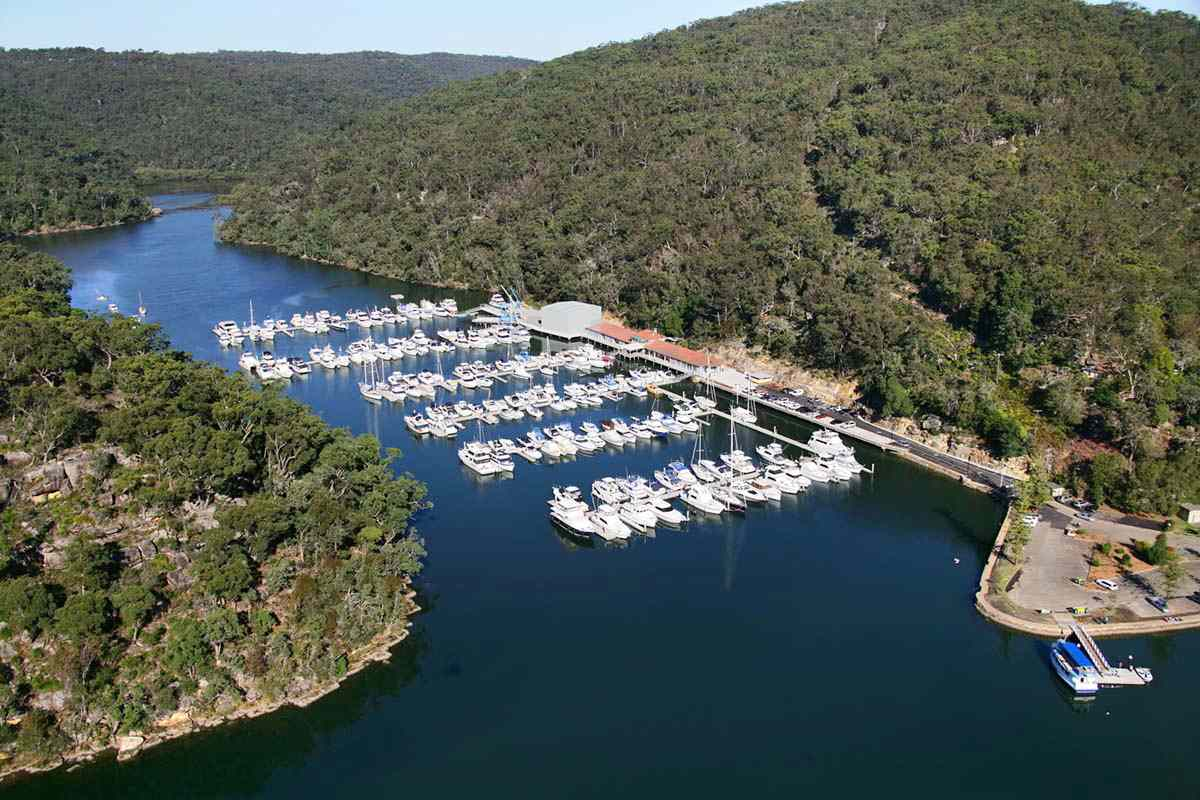 Which waterways can you access from Empire Marina, Bobbin Head?