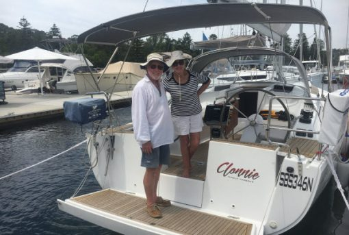 From the skies to the seas…  how a SMART Boating syndication gave Chris and Ellena the freedom to enjoy their retirement