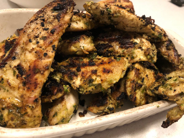 Thai Lime and Coconut Marinade