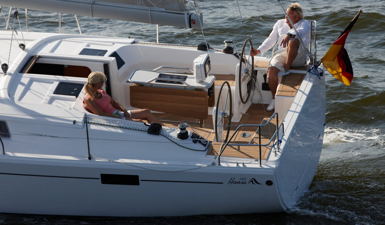 Hanse 385 Designed by sailors