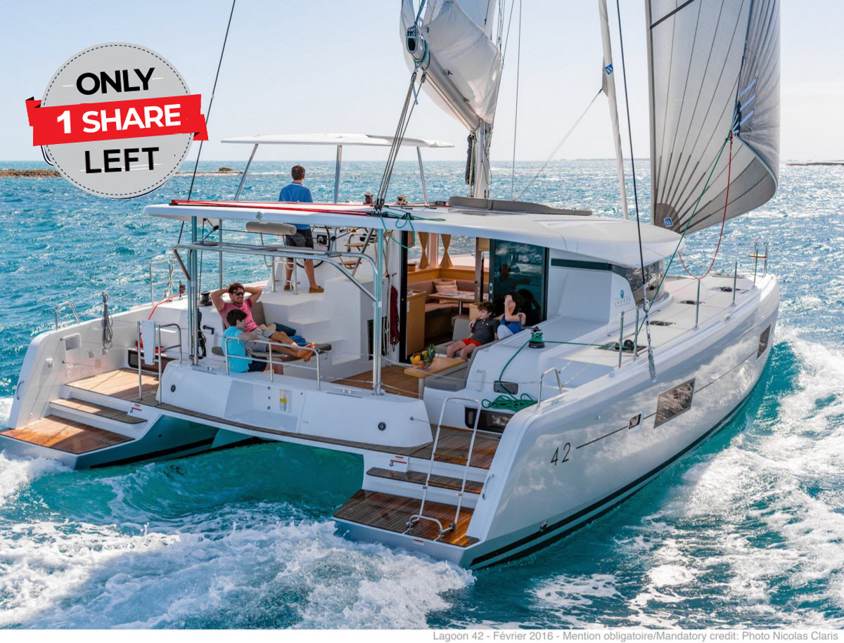 Family sailing with Lagoon 42 - Mirage