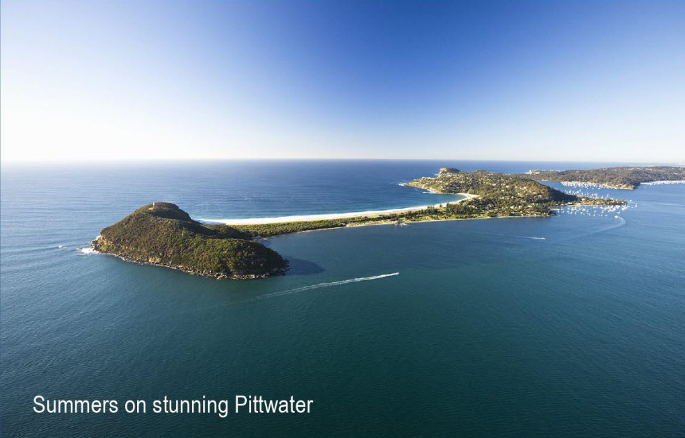 SB - Summers on stunning Pittwater